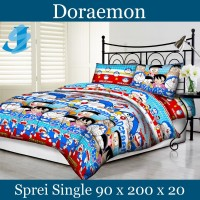 Tommony Sprei Single 90 x 200 - Doraemon