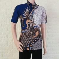 Kemeja Batik Lengan pendek modern