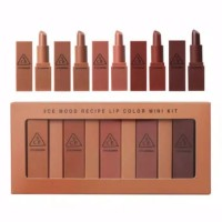 3CE MOOD RECIPE LIP COLOR MINI KIT [ISI 5 PCS]