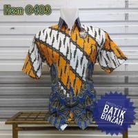 Hem kode 0403 / Kemeja Batik Kerja modern / Batik Binzah