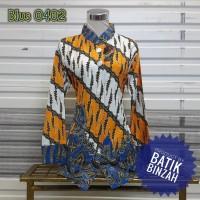 Blus Batik Kode 0402 / Batik Perempuan lengan Panjang / Batik Binzah