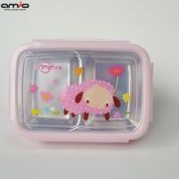 Tempat Makan Stainless   Lunch Box
