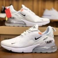 067c443c9e Nike Air Max 270 Triple White Off White High Premium Original Quality