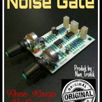 kit NOISE GATE penghilang fedback