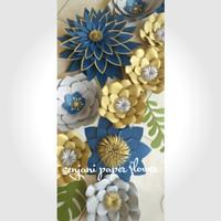 jual paper flower / dekorasi bunga kertas (type:02) with
