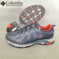 sepatu columbia waterproof gunung hiking trail run outdoor anti air