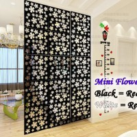 Harga vintage 3d little mini flower tirai gantung partisi penyekat | antitipu.com