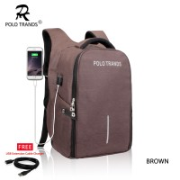 Polo Trands Smart Backpack Anti Maling 36128 - Tas Ransel Laptop