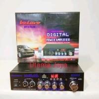 BEST AUDIO Ampli Mini Betavo BT 630B Bluetooth FM Radio USB AC DC Amp