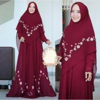 Baju Busana Muslim Wanita Gamis Syari Pesta Maxi Dres Kamila Terbaru