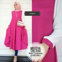 Meisya Long Tunik/Tunic Twistcone/Tunik Jumbo/Long Shirt/Midi Dress