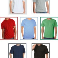 Best Seller Kaos Polos Premium Pria - High Quality - Cotton Combed 30S