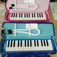 Pianika Snowpeak Hard Case - Pink / Alat Musik Tiup Tas Kokoh Original
