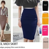 eebcd124b Zara Pencil Skirt /Pensil Skirt Rok Pensil Fashion Wanita Rok Pensil