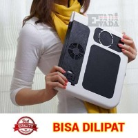 BEST DEALL MEJA LAPTOP E TABLE SERBAGUNA DENGAN FAN KIPAS - KUAT &