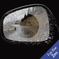 Pelindung Spion Kaca Mobil Variasi Anti Hujan - Mirror Anti Fog Film