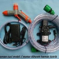 Harga mesin pompa cuci mobil motor alat steam mobil 60watt | Pembandingharga.com