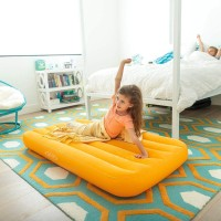 Kasur Angin Cozy Kidz Yellow Airbed 88cmx1.57mx18cm - Intex 66803