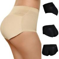 Women Seamless Lingerie Hip Padded Panties