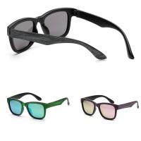 Kacamata Hitam Polarized Bahan Kayu Bambu Buatan Tangan Untuk Pria Wa