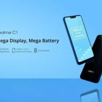 Oppo Realme C1, Ram 2/16GB Layar 6.2 inchi poni Garanai Resmi