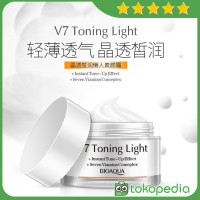 Bioaqua Krim Pemutih Wajah V7 Toning Light 50g