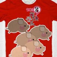 Baju tahun baru imlek sincia Babi (pig run)