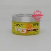 Hair Gel - Gatsby - Water gloss Super Hard bottle 150g