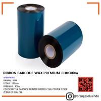 Jual RIBBON PRINTER LABEL - TINTA LABEL PRINTER - WAX PREMIU Limited
