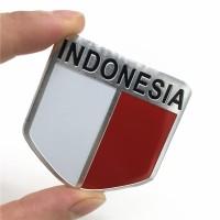 O/53 Emblem Mobil Car Accessories Alumunium Sticker Indonesia Badge