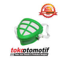 Masker Debu Segitiga Hijau / Dust Mask / Masker Plastik Berkualitas
