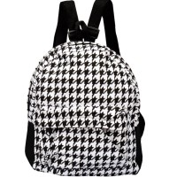 Mini Ransel Houndstooth | backpack trendy