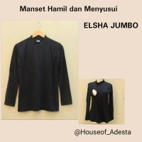 baju Hamil Manset / Inner / Dalaman hamil dan menyusui elsha Jumbo