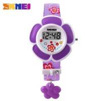 jam tangan anak original SKMEI Children Fashion Rose Digital R0x3