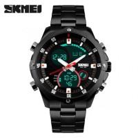 jam tangan pria original SKMEI Sport Analog LED R0x42
