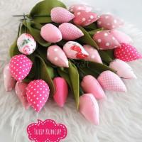Jual Tulip Kuncup Tulip Kain Tulip Kain Perca Bunga Tulip Kab Sidoarjo Nie Craft Tokopedia