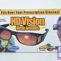 Kacamata Anti Silau / HD Vision 1 Box isi 2 pcs