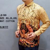 Kemeja Batik Pria  Baju Lengan Panjang  Baju Batik Modern OF 69 6d6ceb0b46