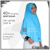 [PROMO] Jilbab Instan Pet Antem XL / Hijab Kaos Bergo Anthem Size XL