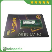 RAM DDR3 SODimm V-GeN 8GB PC12800/1600Mhz (Memory Laptop VGEN) -K2700