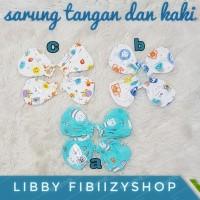 Libby Sarung Tangan dan Sarung Kaki Bayi ( 0-12bulan)