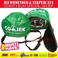 Cover Helmet GOJEK, Tas Helm Anti Hujan dengan Logo GOJEK