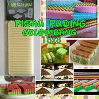 pisau gelombang pudding import