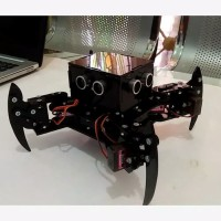 spider robot mg90s (chassis + arduino + servo )
