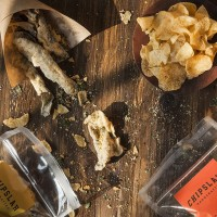 Chipslah Salted Egg Potato Chips & Fish Skin Set