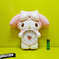Jam Dinding Body MY MELODY SWING CLOCK 632-1
