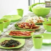 Jual Golden Dragon Melamine set keluarga muda perlengkapan makan Murah
