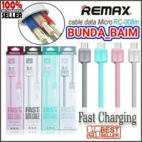 KABEL DATA REMAX MICRO USB RC-008m / FAST CHARGING / 100CM / 1 METER