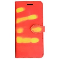 Unik Sensitive Thermal Flip Cover for Samsung Galaxy S8 Plus Red L