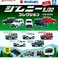 AOSHIMA - Suzuki Jimny SJ30 1/64 Complete set 5pcs